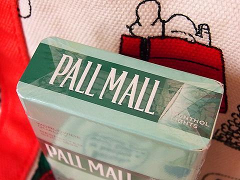 Pall Mall Menthol Lights Box