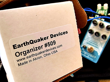 Earth Quaker Devices Organizer