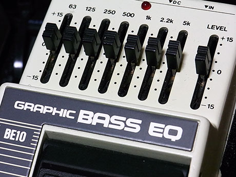 Ibanez BE10 Graphic Bass EQ