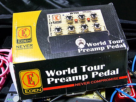 Eden WTDI World Tour Preamp Pedal