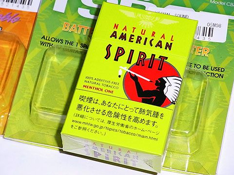 Natural American Spirit Menthol One