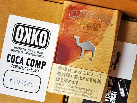Camel Natural Lights Box