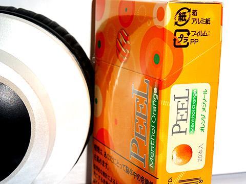 Peel Menthol Orange