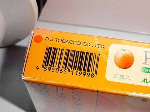 Peel Menthol Orange