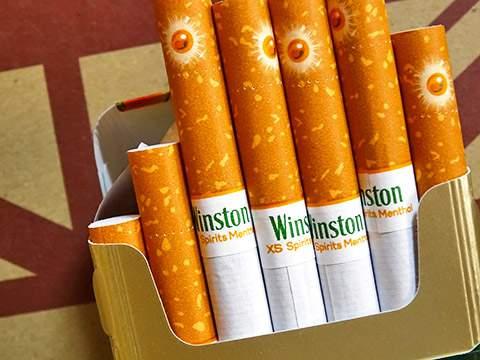 Winston XS Spirits Menthol 1 100s Box