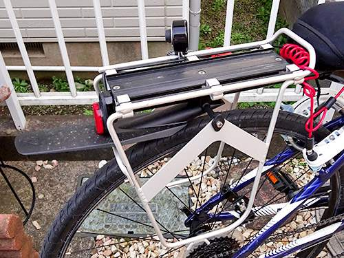 Mongoose Artery Fender And Rack