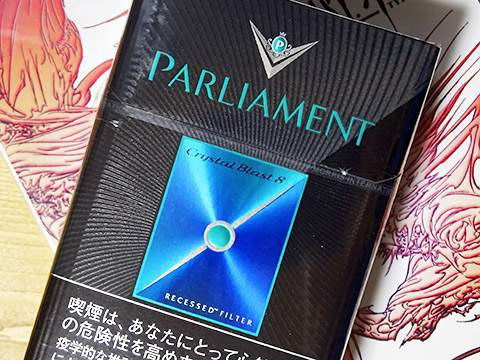 Parliament Crystal Blast 8 KS Box