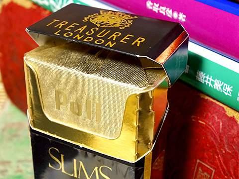 Treasurer Slims Black