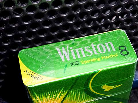 Winston XS Sparkling Menthol 8 Box