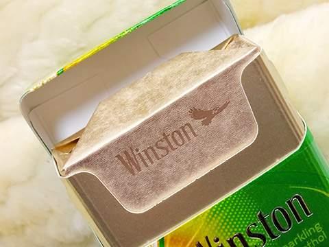 Winston XS Sparkling Menthol One 100's Box