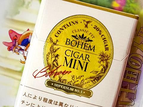 Bohem Cigar Mini Super Slim No.1