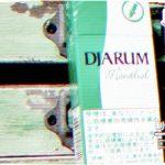 Djarum Menthol を吸ってみた